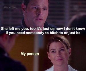 ellen pompeo, greys anatomy, and justin chambers image
