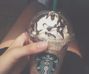 starbucks, frappuccino, and summer image