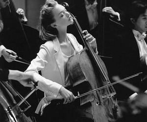 music, cello, and Gemma Ward image