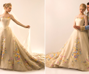 cinderella, disney, and wedding dress image