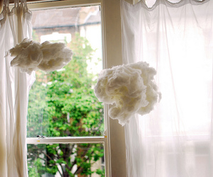 cloud, room, and white image