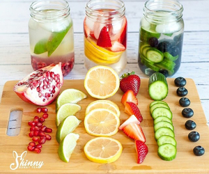 drink, fit, and food image
