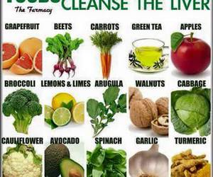 food, liver, and cleansing image