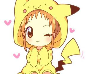 anime, pikachu, and kawaii image
