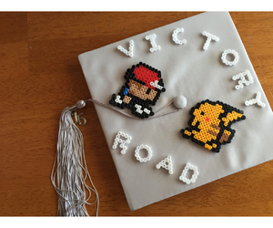 ash, cap, and graduation image
