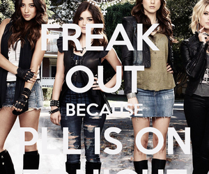 girl, pretty little liars, and pll image