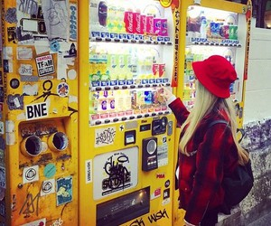 automat, girl, and japan image