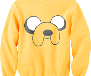 JAKe, yellow, and adventure time image