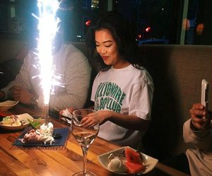 asian, birthday, and casual image