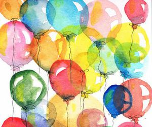 balloons and art image