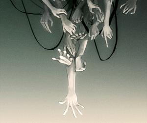 creepy, portal, and rikki image