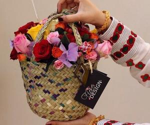arabic, eid, and flowers image