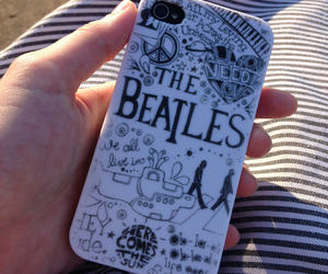 beatles, black and white, and favorite band image
