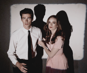 snowbarry, grant gustin, and danielle panabaker image