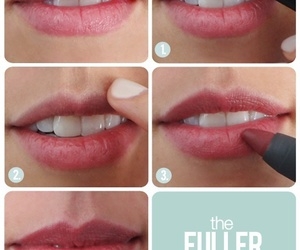 lips, beauty, and tutorial image