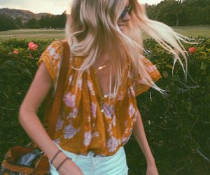 summer, fashion, and blonde image