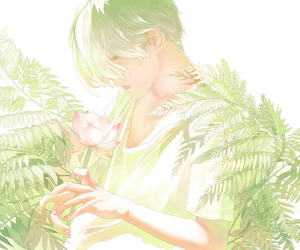 anime, green, and re° image