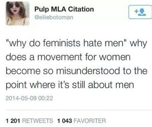 accurate, feminism, and ignorance image