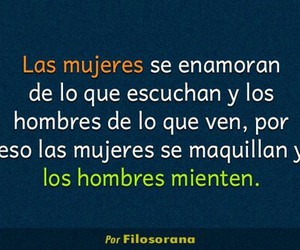 mujeres, mentiras, and frases realistas image