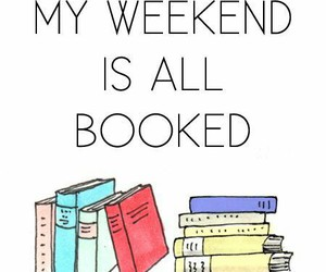 book, weekend, and read image