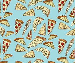 wallpaper, background, and pizza image