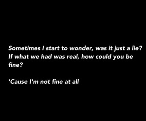 quote, song, and amnesia image