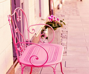 pink, retro, and romantic image