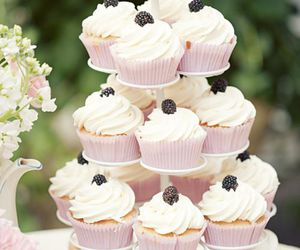 cupcake, sweet, and delicious image