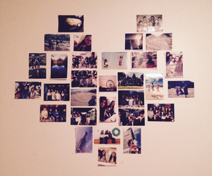 Collage, heart, and memories image