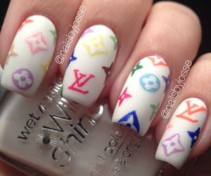 nails, sporty, and woman image