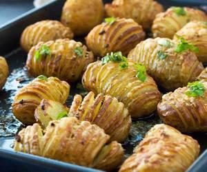 garlic, parmesan, and potato image