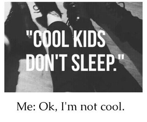 sleep, cool, and cool kids image