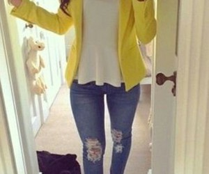 fashion, outfits, and jeans image