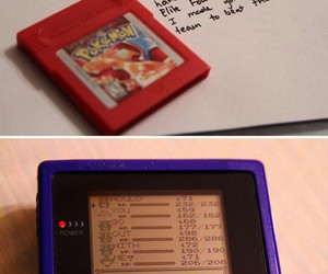 pokemon, red, and sweet image