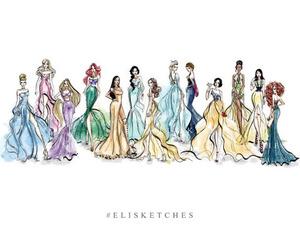 princess and elisketches image