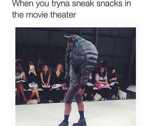 funny, lol, and snack image