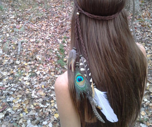 feather, festival, and hipster image