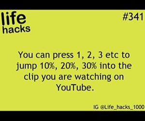 life hack, pics, and text image