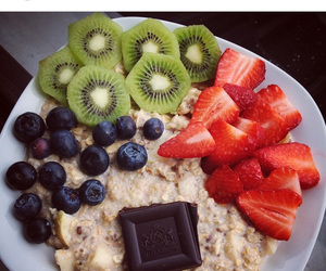 breakfast, chocolate, and colorful image