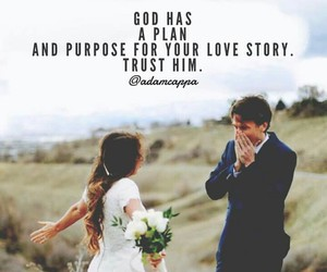 god, marriage, and jesus image