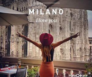 girl, milano, and summer image
