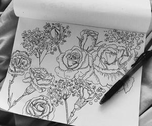 art, tumblr, and black image