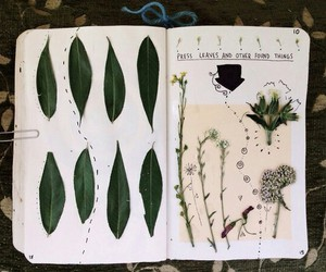 wreck this journal and flower image