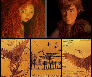 merida, hiccup, and friends image