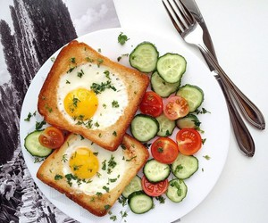 breakfast, food, and yummy image