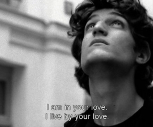 louis garrel, love, and movie image