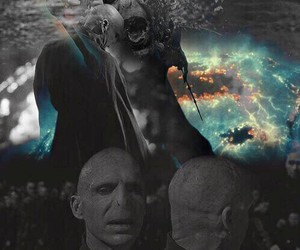 harry potter, voldemort, and tom riddle image