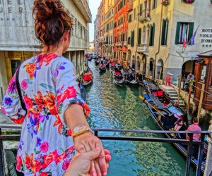 boy, girl, and italy image