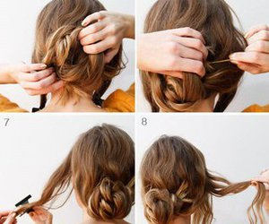 hair and hair tutorial image