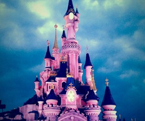 castle, love, and disneyland image